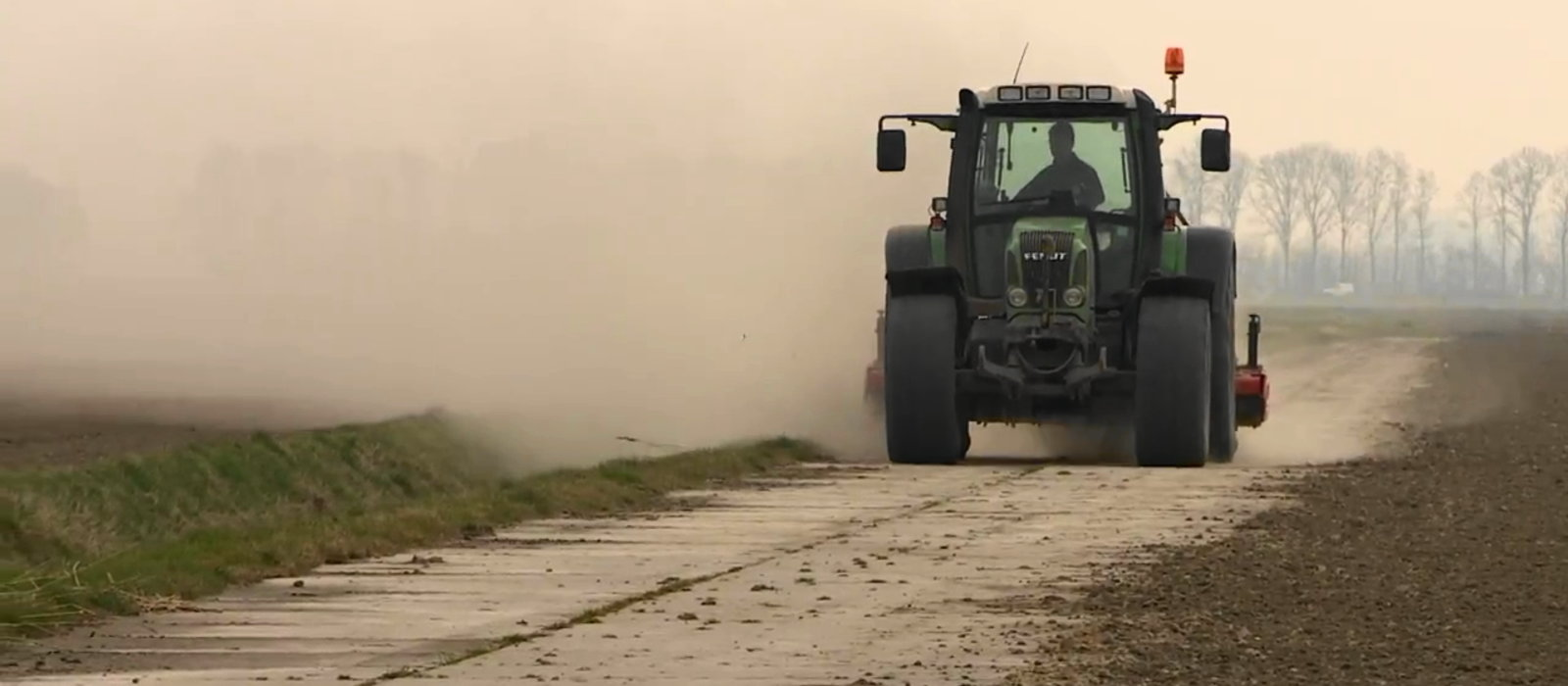 Innovative agricultural dust suppression